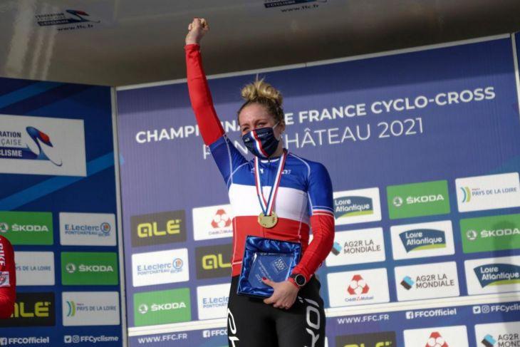 Interview d'Amandine Fouquenet, nouvelle championne de France de cyclo-cross élites