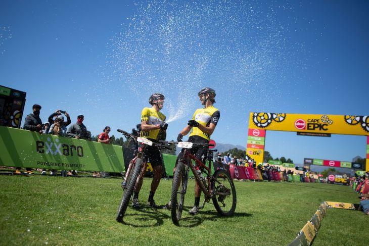 Retour sur la Cape Epic 2021 et la victoire de Jordan Sarrou et du sud-africain Matt Beers