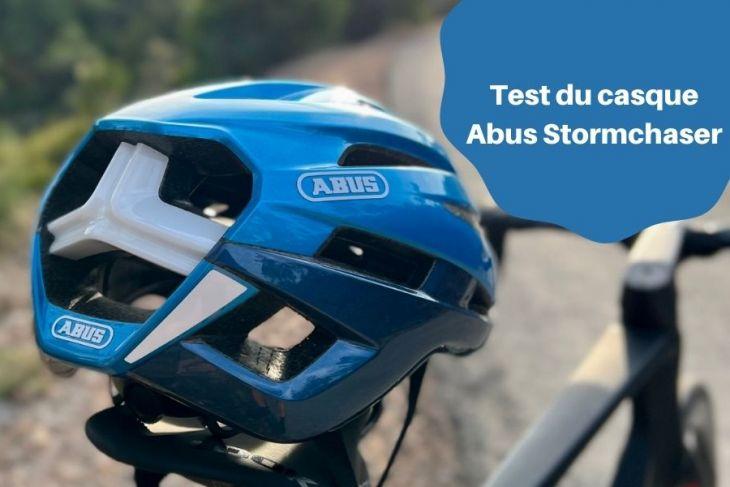 Test du casque Abus Stormchaser le casque qui sait tout faire : Route, Cyclocross, Gravel, Urbain …