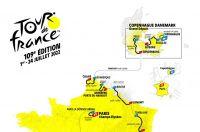 Le parcours officiel du Tour de France 2022